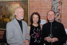 Николай Рыбаков, открытие выставки