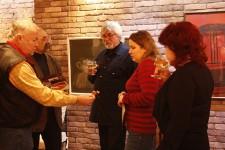 Валентин Теплов, открытие выставки