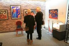 Наталья Шалина, открытие выставки