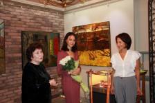 Елена Боброва, открытие выставки