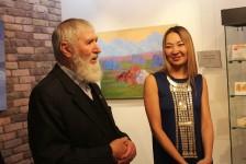 Анна Осипова, открытие выставки