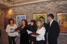 Открытие выставки Румяны Внуковой