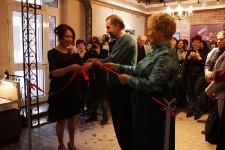 Церемония открытия выставки Константина Войнова