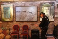 Открытие выставки Евгении Аблязовой