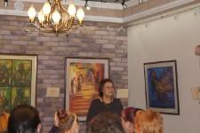Румяна Внукова, открытие выставки